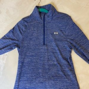 Blue Under Armor pull over - size S